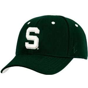 Zephyr Michigan State Spartans Green Team Logo Z Fit Hat