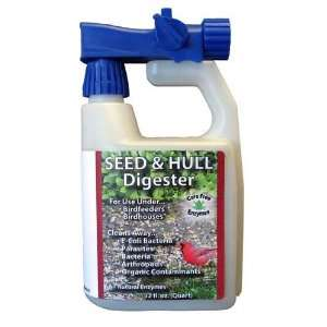 Seed & Hull Digester 32 oz   Protects birds from Unwanted