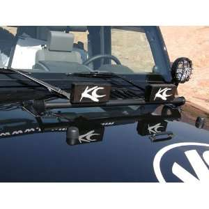 KC Hilites 7409 Jeep Wrangler Hood Mounted Light Bar   TJ