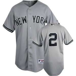 MLB Road Grey Authentic New York Yankees Jersey