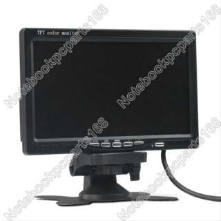 TFT LCD Color Video Car Rearview Headrest Monitor DVD VCR VCD