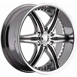 Cattivo 724 20x9 Chrome Wheel / Rim 6x4.5 with a 30mm Offset and a 83