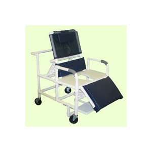 MJM International Bariatric Reclining Shower Chair with Full Support