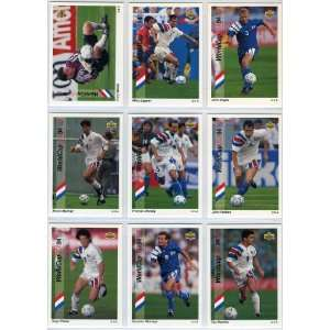 1993 Upper Deck USA World Cup Soccer 165 Card New Complete E