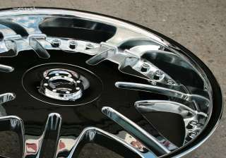 DVINCI BLADE II 22 CHROME RIMS WHEELS HONDA RIDGELINE