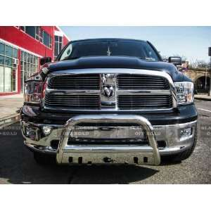 Dodge Ram 1500 2009 2011 Stainless Steel Black horse With