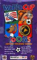 Toons World Cup Soccer Trading Card Box