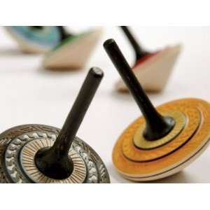 Wooden Spinning Top   Bonbon Toys & Games