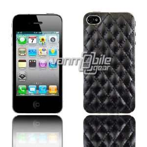 iPhone 4S Ultra Thin Design Case Cover 2 ITEM COMBO Black Diamond