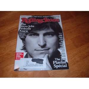 Rolling Stone Magazine (October 27, 2011) The Steve Jobs
