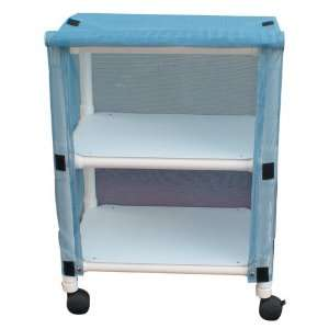 MJM International E325 2C Echo Linen Cart Health