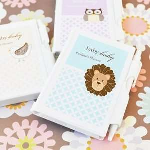Baby Animals Personalized Notebook Favors Baby