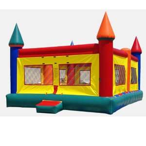 20x20 Foot Castle Bounce House (Commercial Grade) Toys & Games