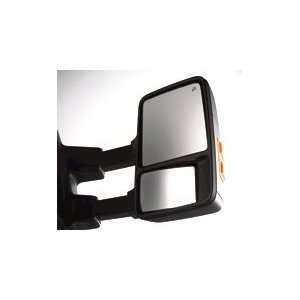 Duty Telescoping Trailer Tow Mirrors, Right Hand Side Automotive