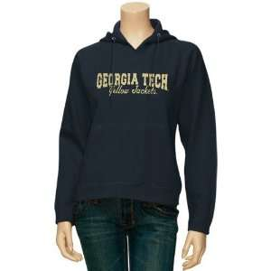 Georgia Tech Yellow Jackets Ladies Navy Blue Pro Weave