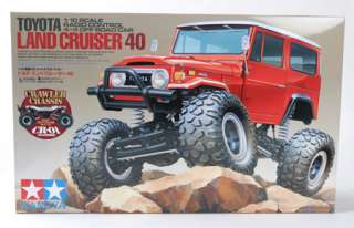 Tamiya 1/10 Toyota Land Cruiser 40 CR 01 4x4 Rock Crawler Kit   58405