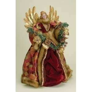 Gardens Woodland Christmas Angel Tree Topper #26637