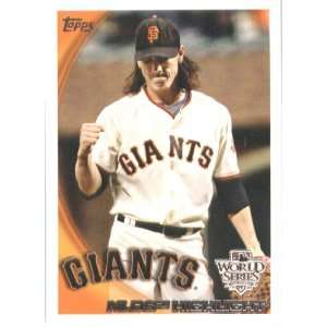 2010 Topps Tim Lincecum San Francisco Giants Cody Ross
