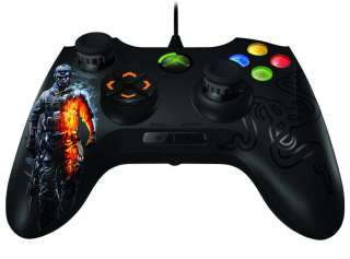 Onza Tournament Edition Battlefield 3 Xbox 360 Gaming Controller Black