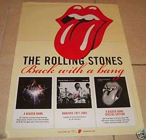 THE ROLLING STONES * Album Covers Poster * With A Bang