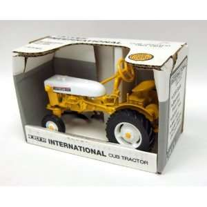 1/16th International Harvester 1964 1976 Yellow Cub Toys