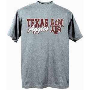 Texas A&M Aggies TAMU NCAA Dark Ash Short Sleeve T Shirt