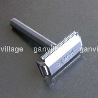 Vintage Travel Shave Shaver Safety Razor Blade Case New