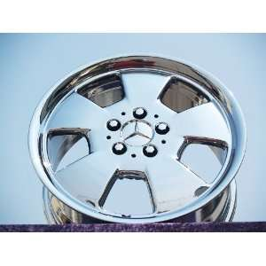 Mercedes Benz SL class Set of 4 genuine factory 17inch
