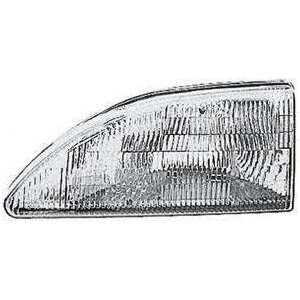 94 98 FORD MUSTANG HEADLIGHT LH (DRIVER SIDE), Except Cobra Model
