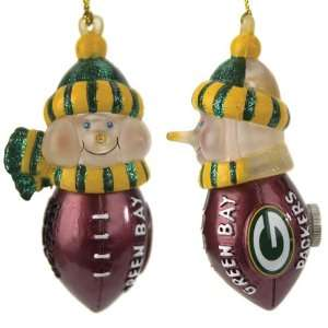 Pack of 4 NFL Green Bay Packers LED Lighted Football