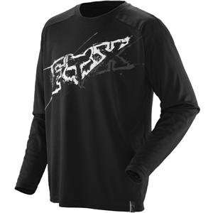 Fox Racing Ride Jersey   2X Large/Cutter Black Automotive