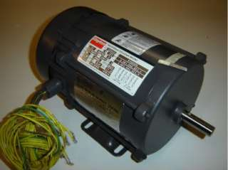 Dayton 1/2 HP 3 PH Electric Pump Motor Explosion Proof