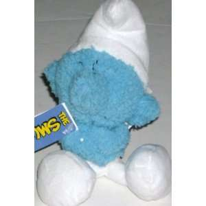 The Smurfs Mini Grouchy Smurf Grumpy Blue Plush Pal Toys