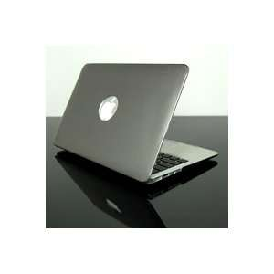 TopCase Metallic Solid Gray Hard Case Cover for NEW Macbook Air 11