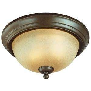 Westinghouse 694 2 Light Conestoga Flush Ceiling Lighting