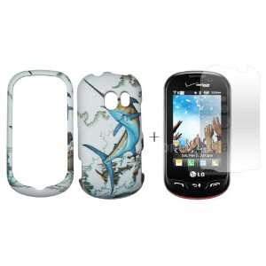 Boat case cover ( FREE Anti Glare Screen Protector ) Cell Phones