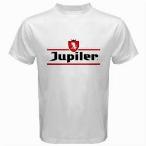 Jupiler Beer Logo New White T Shirt Size  S  Free