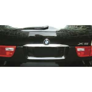 Custom Chrome Rear Trunk Lid Cover BMW X5 2000 2007 Grills