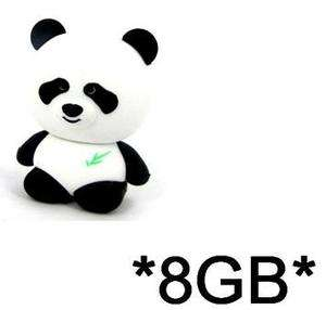 New Cute Panda Cartoon 8GB Memory Stick USB Flash Drive Pen 8G USA