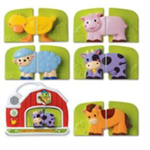 LEAPFROG ENTERPRISES FRIDGE FARM MAGNETIC ANIMAL SET