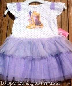 Disney Tangled Rapunzel   Baby Girl   Tulle Tutu Dress   NWT 12 m 18 m