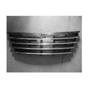 CHRYSLER TOWN & COUNTRY VAN Grille assy w/Fog Lamps; 119 WB; Chr blk