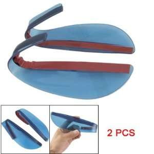 Soft Plastic Bar Auto Car Mirror Rain Shield Guard 2 Pcs Automotive