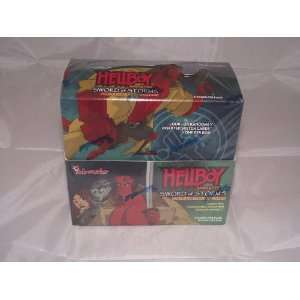 Hellboy Animated Factory Sealed Trading Card Hobby Box 36