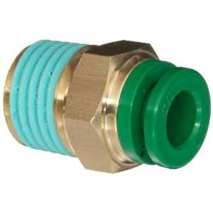 SMC KR Series Brass Flame Resistant Push to Connect Tube Fitting