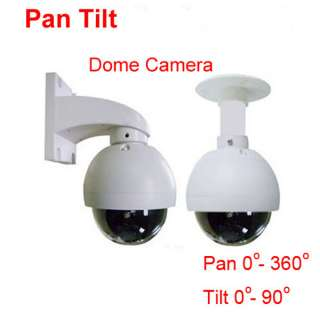 Sony 520 CCD Pan Tilt Indoor Dome Security CCTV Camera