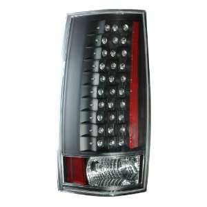 2007 2010 Chevy Tahoe/suburban Led G4 Tail Lights Black (Escalade Look