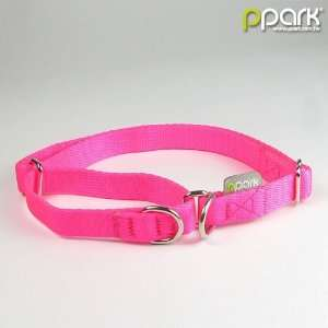 ppark Martingale Dog Collar for training   Shocking Pink