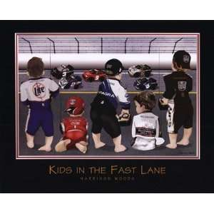 Kids In The Fast Lane Poster Print