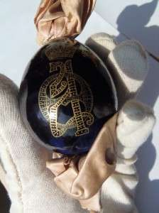 Mega rare antique Imperial Russian Easter Egg byImperial Porcelain